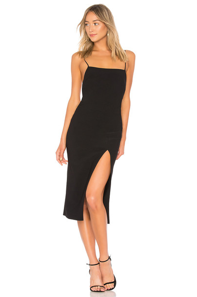 BEC&BRIDGE Brooke Cowl Dress in black