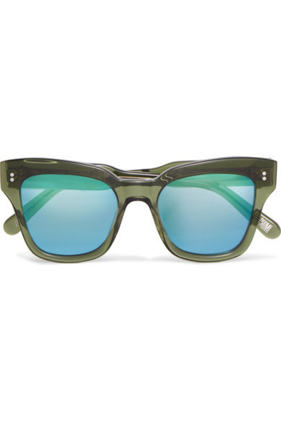 CHIMI sunglasses green