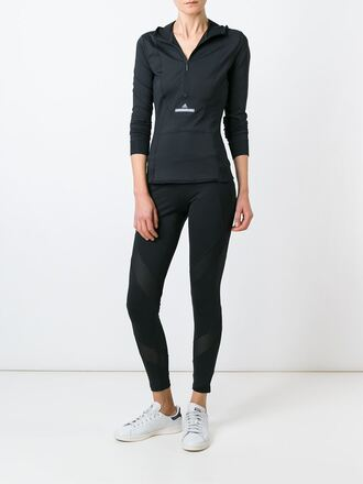 leggings sportswear black leggings adidas stella mccartney