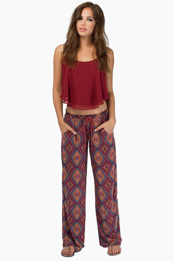 Ellington Palazzi Pants - Tobi