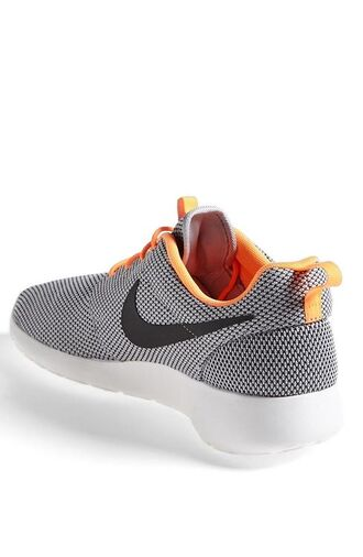 shoes nike orange grey black white girl trainers nike roshe run running shoes sneakers fitness