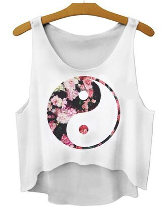 tank top sammydress camisole vest floral top shirt t-shirt crop tops clothes cute streetstyle summer sexy beautiful fashion girly outfit