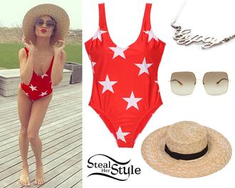 swimwear stars red white white stars red swimwear one piece