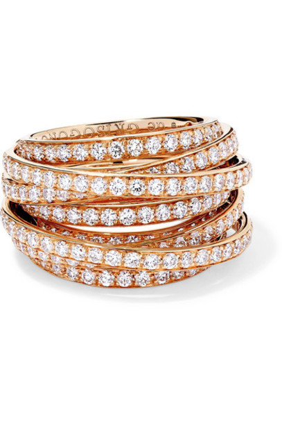 de GRISOGONO - Allegra 18-karat Rose Gold Diamond Ring