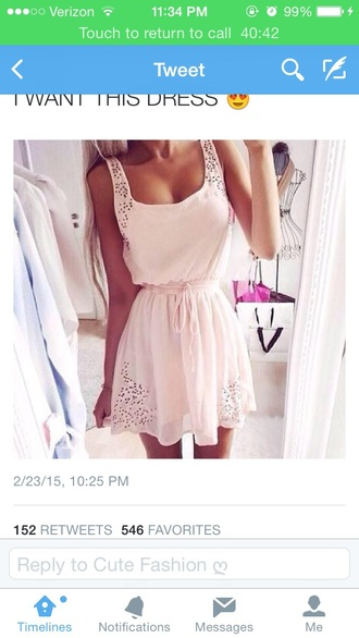 dress pale holes pink dress pale pink pale pink dress