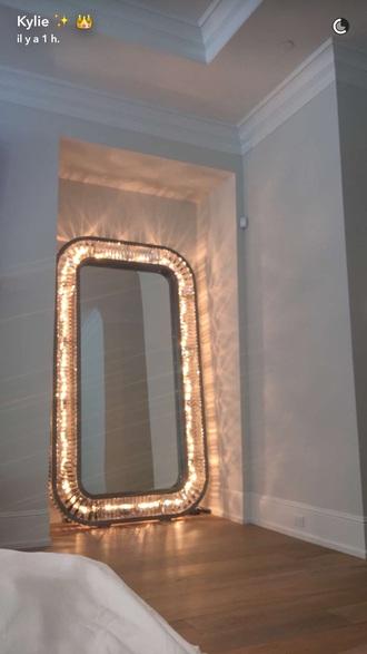 home accessory kylie mirror mirror light