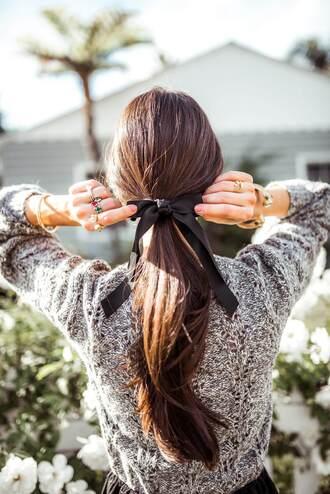 hair accessory tumblr hair bow hair hairstyles brunette