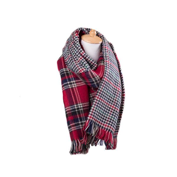 Tartan scarf (2 colors)
