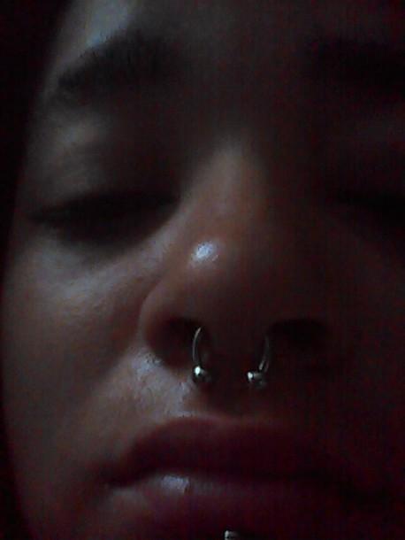 Jewels Septum Nose Rings Piercing Septum Nose Ring Opal Maria