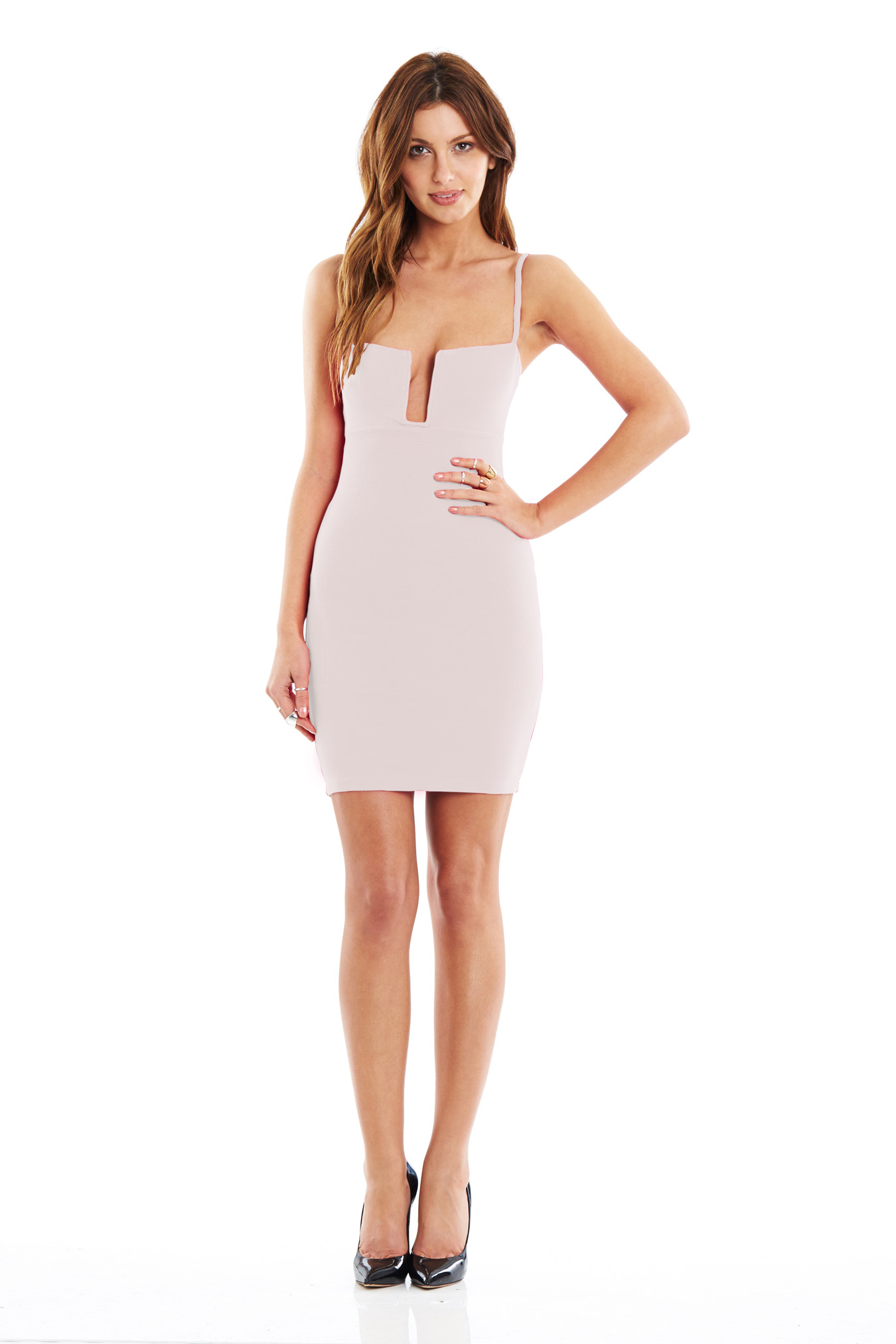 New Nude Stadium Bustier Dress : Buy Designer Dresses Online at Nookie