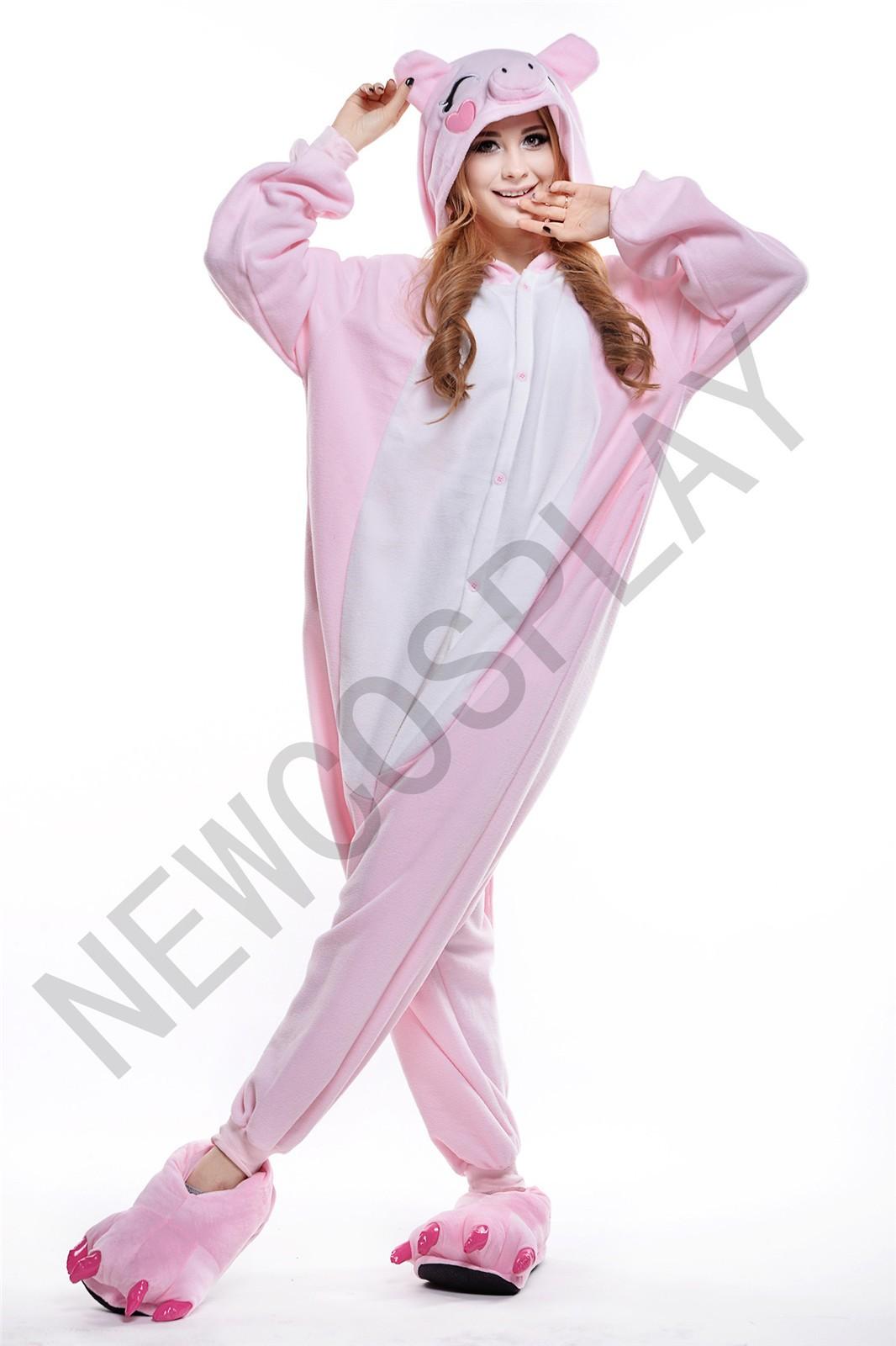PINK PIG ONESIE by NEWCOSPLAY ONESIE
