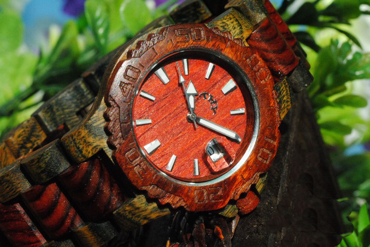 [grlhx1150004]Retro Wooden Watch on Luulla
