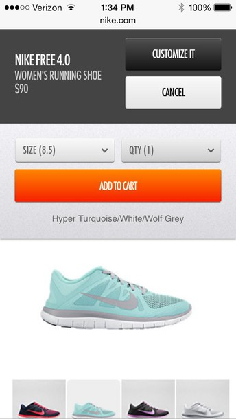 shoes nike free run tiffany blue nikes