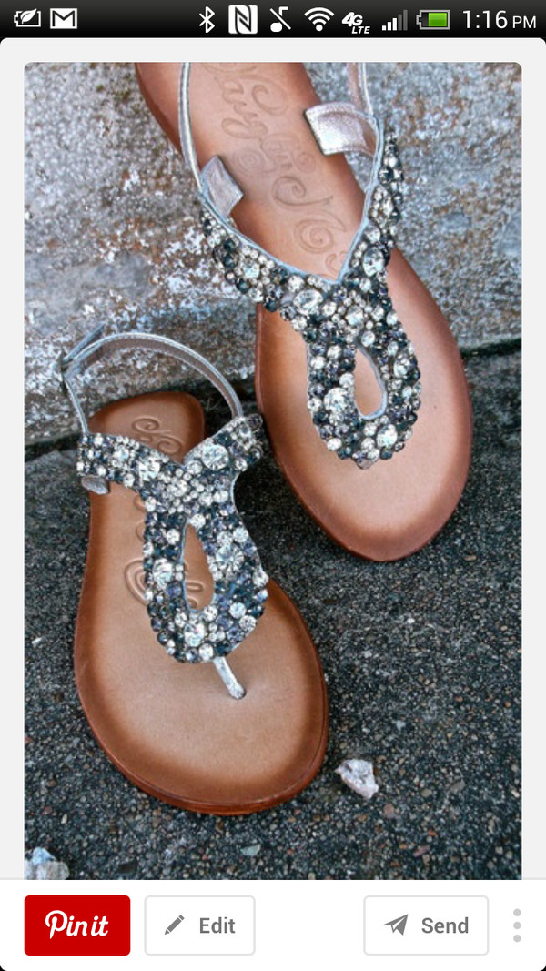shoes Silver sandals silver flat sandals silver low heel sandals
