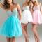 Shining rhinstone cute dress for girls