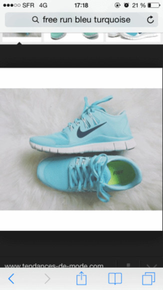 shoes nike sneakers nikerunning nike roshe run nike tiffany blue free runs
