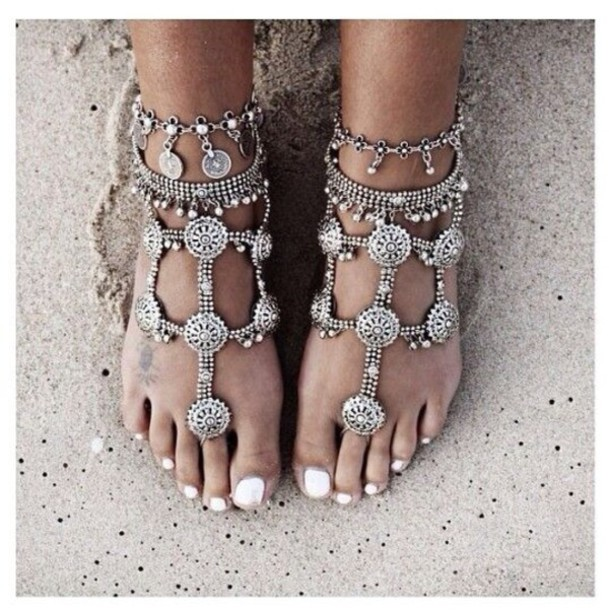 shoes footless sandals
