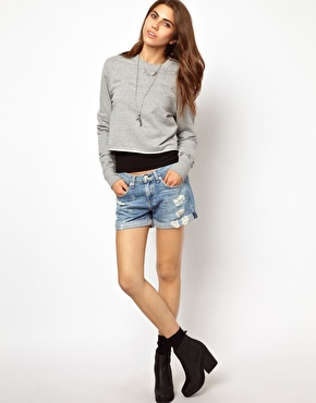 Rag & bone boyfriend short at asos