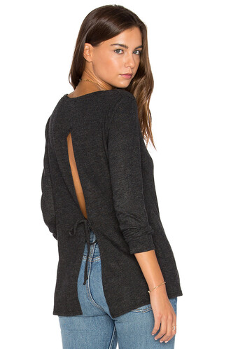 tunic back charcoal top