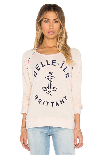 sweatshirt cream sweater