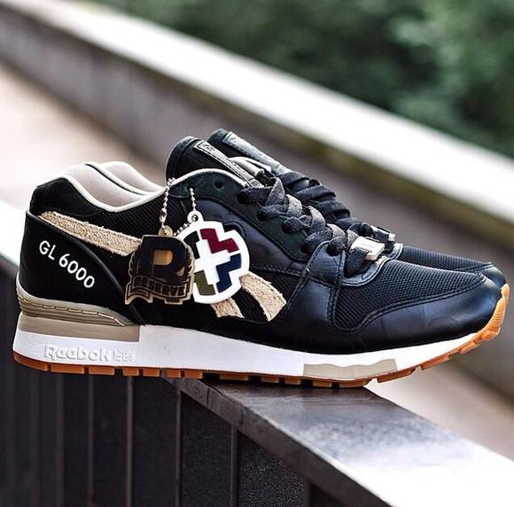 shoes Reebok sneakers black