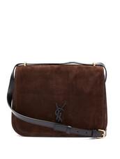 satchel,cross,bag,suede,dark,brown