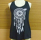 Cute & rock workout shirt — dreamcatcher tshirt womens tribal native inspired american apparel tank top native american