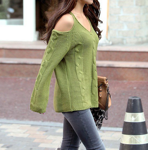 Rogg Green Sweater