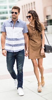 hello his,blogger,shoes,menswear,mens t-shirt,white sneakers,mens shoes,mens jeans,suede dress,brown dress,black bag,chanel bag,wedges