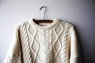 sweater white sweater