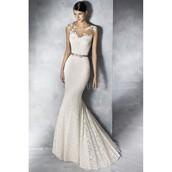 dress,dreamy ball gown strapless,wedding dress,lace dress,ivory dress