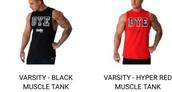 top,workout muscle top,tank top,mens tank top,dye,black tank top,red top,menswear