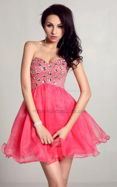 dress short prom dress