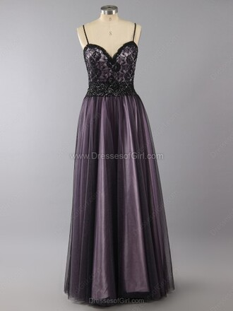 dress princess sweetheart tulle skirt floor-length lace prom dress