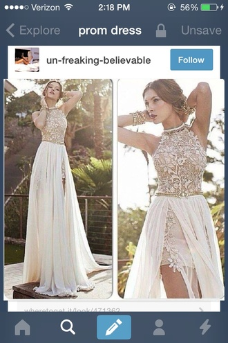 dress prom dress lace white dress lacedress maxi dress long evenings dress flowy dress nudedress longdress high low dress julie vino dresses