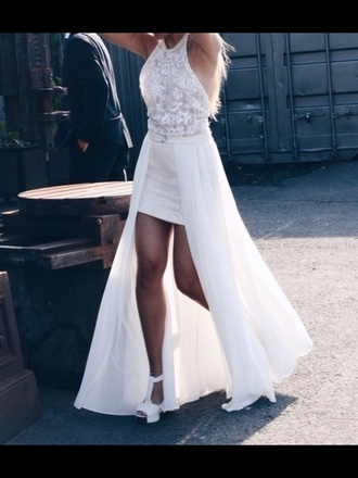 dress white wedding dress wedding prom prom dress maxi dress summer dress long dress sexy dress bridesmaid bride dresses bridal dresses