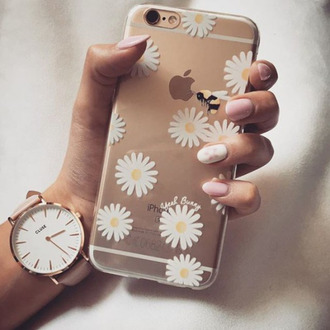 phone cover yeah bunny daisy floral cute clear iphone cover iphone case iphone flowers