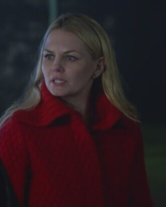 coat red emma swan once upon a time show jennifer morrison