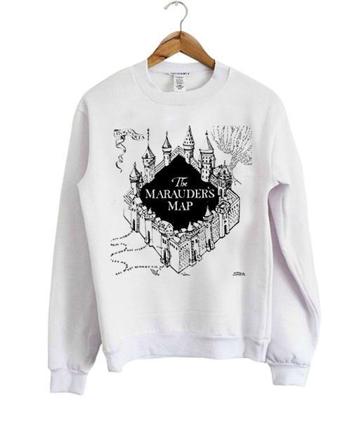 the marauder's map Unisex Sweatshirts