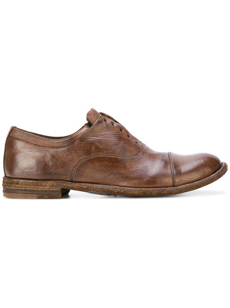 OFFICINE CREATIVE women shoes leather brown