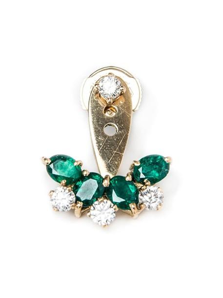 Yvonne Léon women gold grey metallic jewels