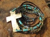 jewels,leather wraps,wrap bracelet,boho,bohemian bracelet,turquoise boho bracelet
