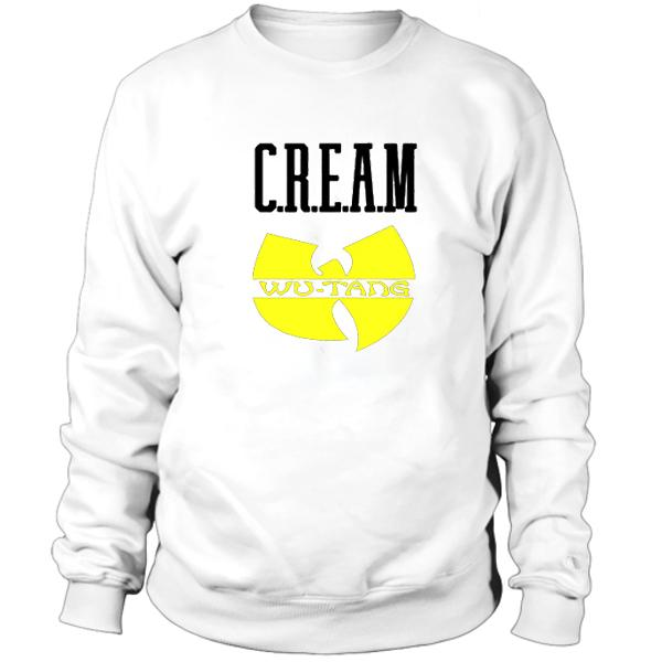 Cream Wu Tang Hip Hop Legend Sweatshirt
