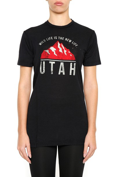 Dsquared2 t-shirt shirt printed t-shirt t-shirt top