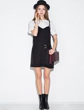 dress,tank layered dress,tank dress,cute casual dress,casual dress,little black dress,pixiemarket