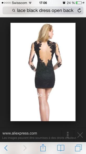short dentelle backless cocktail dress backless dress