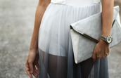 skirt,dip dyed,maxi skirt,white tulle skirt,white skirt,white shorts