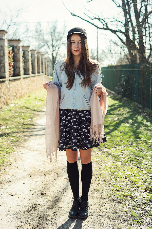 iemmafashion shirt skirt hat shoes jewels