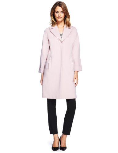 Collection Notch Lapel Oversized Duster Coat - Marks &