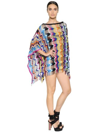 poncho knit top